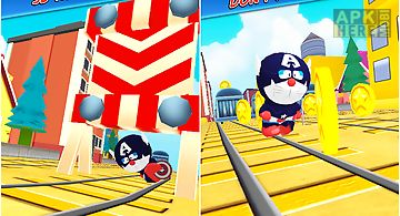 3d captain cat subway run