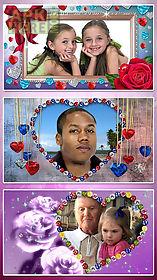 diamond photo frames. animated