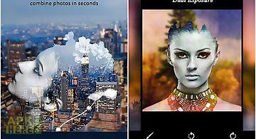 Dual exposure - photo editor