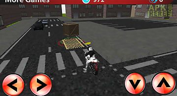 Motor delivery driver 3d