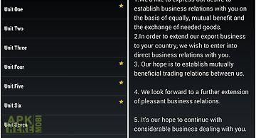 Business english sentences