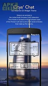 citychat go weather theme ex for android free download at apk here
