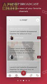 gossip - spread it anonymously