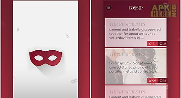 Gossip - spread it anonymously