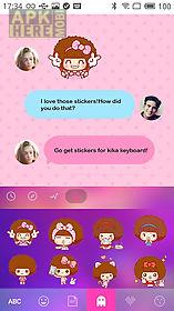 kika keyboard mocmoc sticker