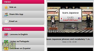 Learn japanese free