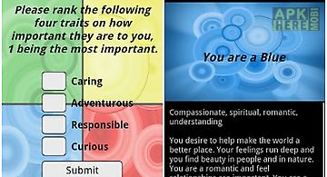 Simple personality test
