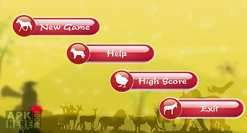 Guess animal sound game