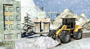 Hill climb snowplow simulator