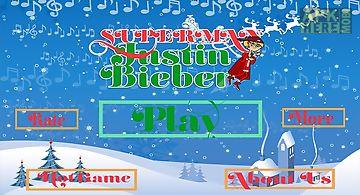 Bieber bounce - xmas santa jump ..