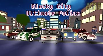 Blocky hover car: city heroes for Android free download at