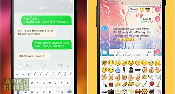 Color emoji keyboard 9