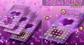 Keyboard purple passion