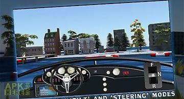 Boat driving 3d simulator