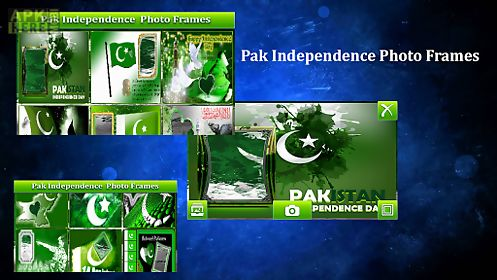 pak independence photo frames