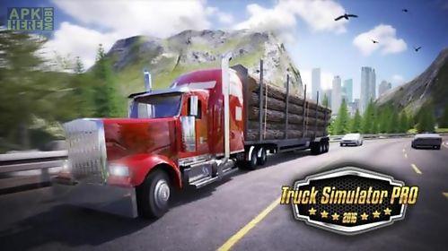truck simulator pro 2016 transparent
