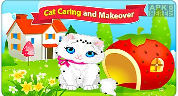 Cat caring and makeover