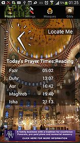 iazan prayer time mosque qibla