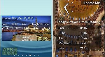 Iazan prayer time mosque qibla