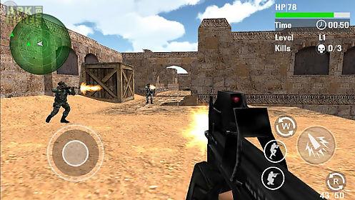 swat counter terrorist shoot