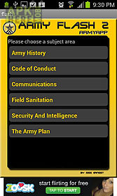 army flashcards 2