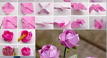 Diy Paper Flower Craft For Android Free Download At Apk Here Store