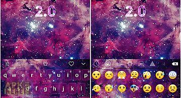 Emoji keyboard-galaxy 2