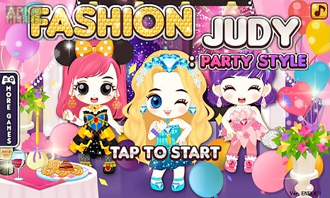 fashion judy: party style
