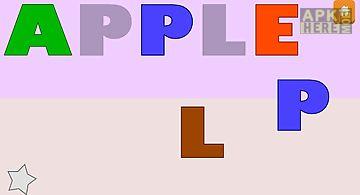 Kids spelling games