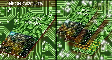 Neon circuits keyboard