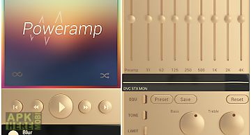Skin for poweramp gold