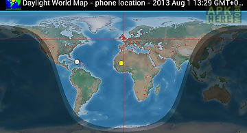 World map for android free download at apk here store apkherebi daylight world map gumiabroncs Images