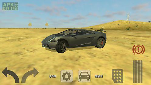 extreme future car simulator