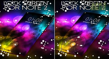 Lock screen for note 2