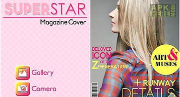 Magazine cover superstar