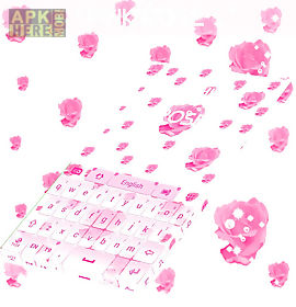 pink rose keyboard