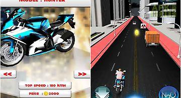 Amazing traffic bike crush free
