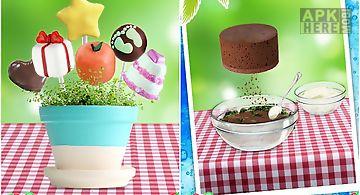 Cake pop cooking!