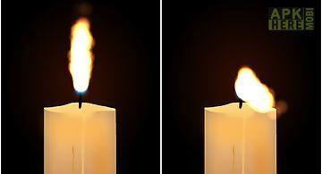 Candle for birthday sensor