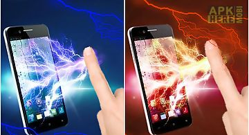 Electric screen colorful prank
