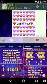 miss art - emoji keyboard 💏