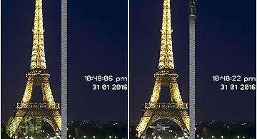 Paris zipper phone lock