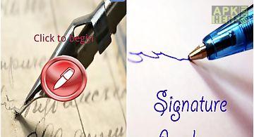 Signature analyzer