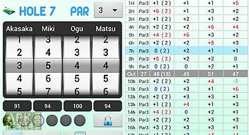 Smart golf score