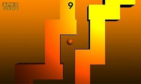 zigzag 3d: hit wall