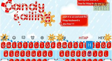 Candy sailing hitap keyboard