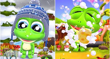 Hi frog! - free pet game app