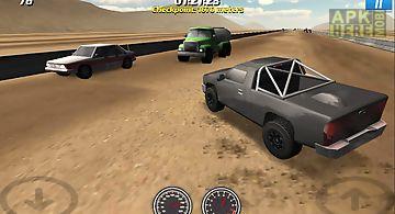 Sahara traffic racecar driver