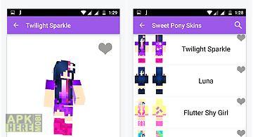 Sweet pony skin for minecraft
