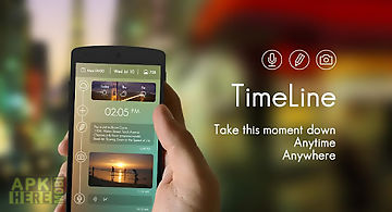 Weather timeline for Android free download at Apk Here store